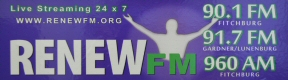 RenewFM Sticker