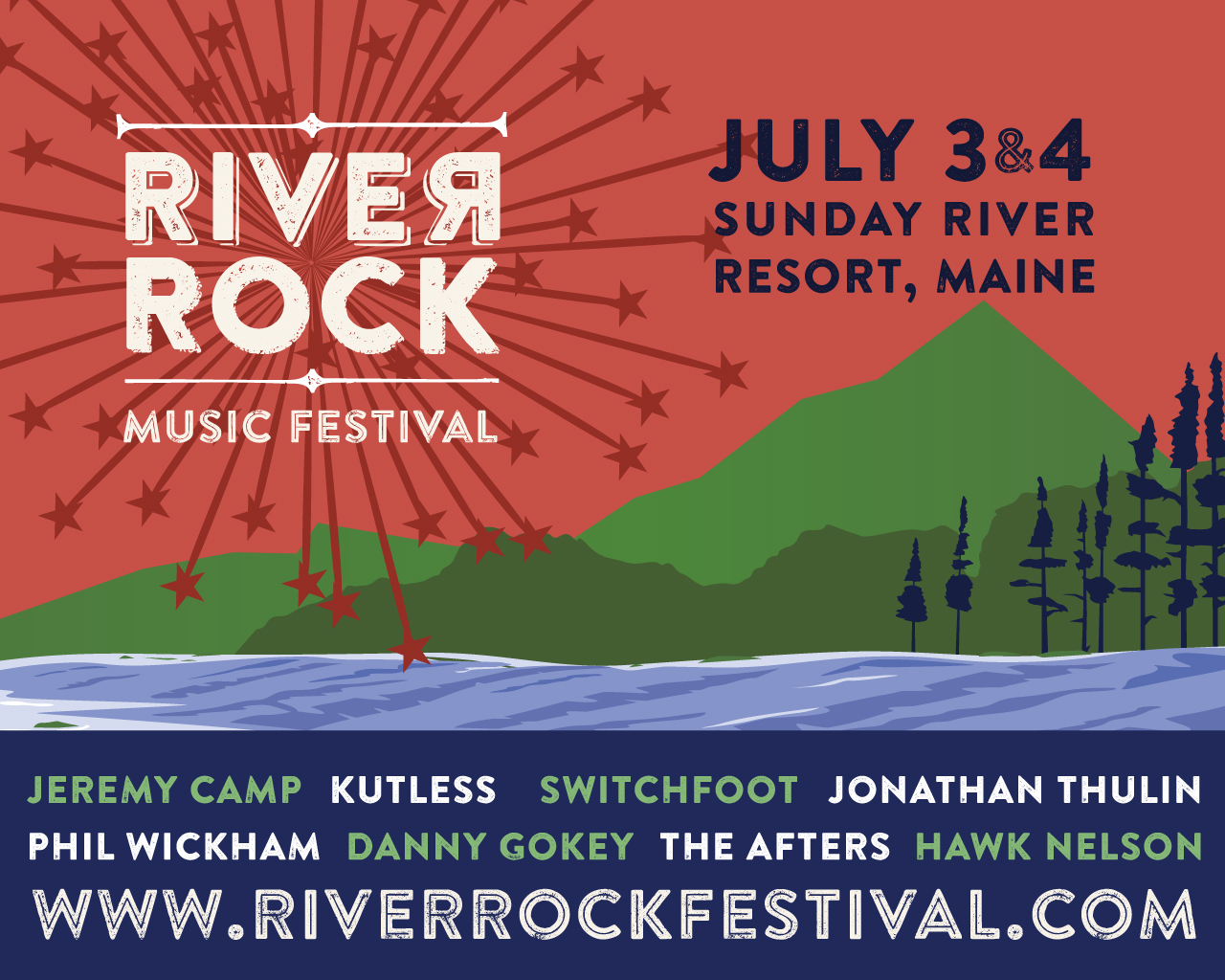 River Rock Fest Slide