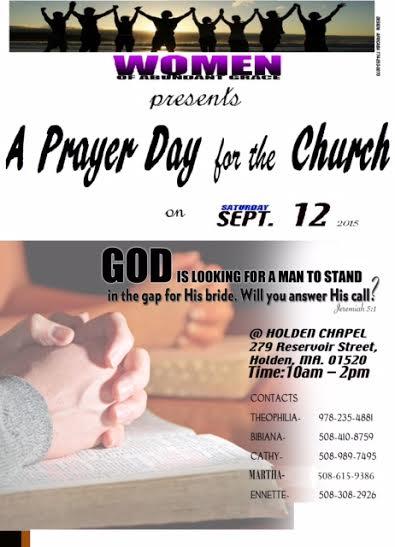 Prayer Day Flyer I1