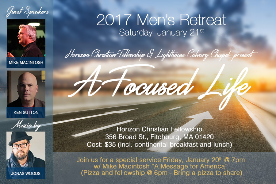 Mens Conference January 2016 A Focused Life 4by6 V3