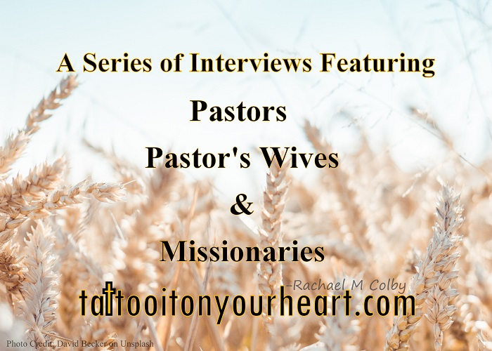 Rachael M  Colby Tattoo It On Your Heart Photo By David Becker 744862 Unsplash A Series Of Interviews With Pastors Pastors Wives  Missionaries